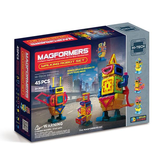 MAGFORMERS Walking Robot Paveikslėlis 1 iš 5 30005401799