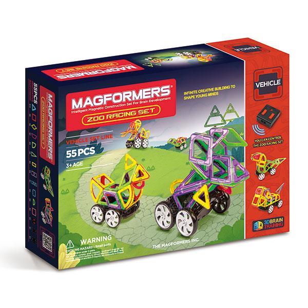 MAGFORMERS Zoo Racing set Paveikslėlis 1 iš 5 30005401797