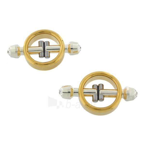 Magnetiniai paauksuoti spenelių spaustukai Paveikslėlis 1 iš 2 25140914000010
