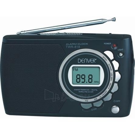 Radio imtuvas DENVER TWR-818 Paveikslėlis 1 iš 1 250210100164
