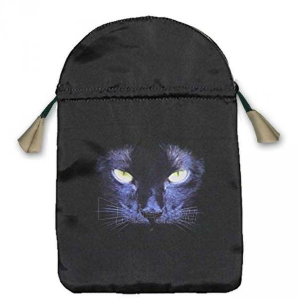 Maišelis kortoms Black Cat satininis juodas Paveikslėlis 2 iš 2 310820214334