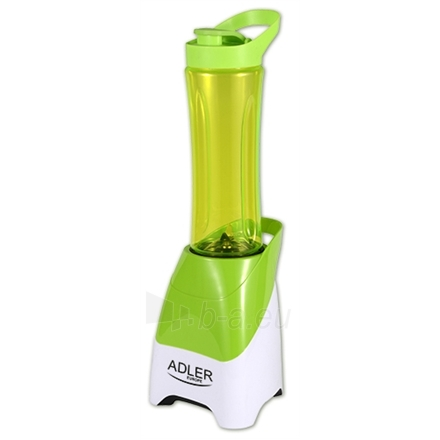 Maišytuvas Adler AD 4054 Personal blender, 2x600ml cups, Convenient cup cap with a spout, Power 250W, Green Paveikslėlis 1 iš 1 250123700600