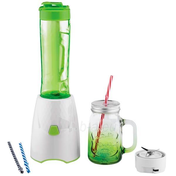 Maišytuvas Blender Scarlett SC-JB146G20   450W white-green Paveikslėlis 1 iš 1 310820146508