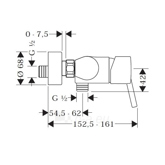 Maišytuvas dušui Talis S 32620000 Paveikslėlis 2 iš 2 270721000286