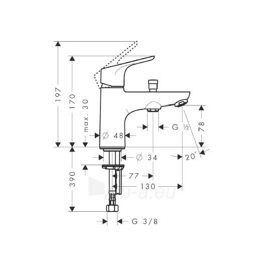 Maišytuvas voniai Focus E2 31930000 Paveikslėlis 1 iš 2 270725000278