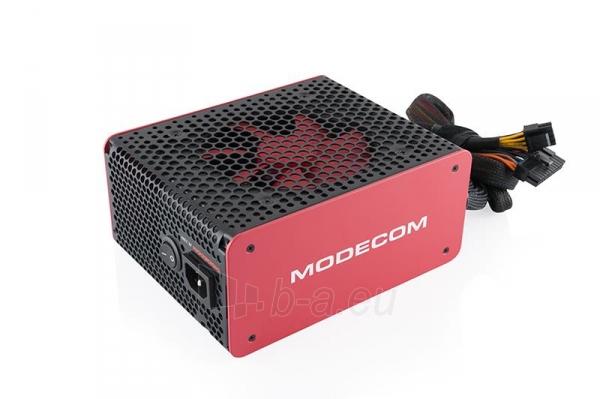 PSU MODECOM  VOLCANO 650 120mm FAN Paveikslėlis 2 iš 7 250255010645