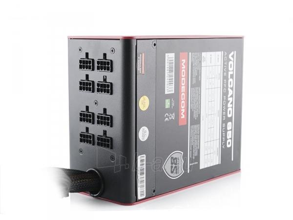 PSU MODECOM  VOLCANO 650 120mm FAN Paveikslėlis 4 iš 7 250255010645