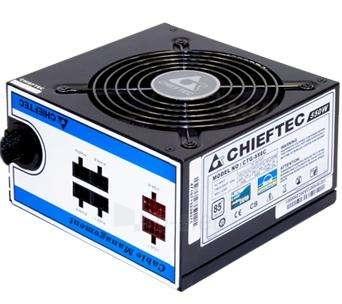 CHIEFTEC 650W PSU, 85+,230V W/CABLE MNG Paveikslėlis 1 iš 1 250255010342