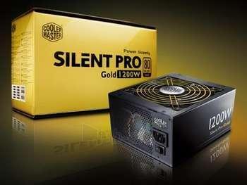 CM SILENT PRO GOLD PSU 1200W 13.5CM 80+G Paveikslėlis 1 iš 1 250255010127