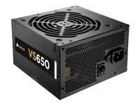 CORSAIR PSU VS Series 650W 80+ Paveikslėlis 1 iš 1 250255010471