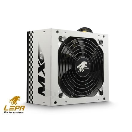 Lepa MX-F1 series,  400W,  120mm FAN, High efficiency >83%, Active PFC PSU, retail packing Paveikslėlis 1 iš 3 250255010695