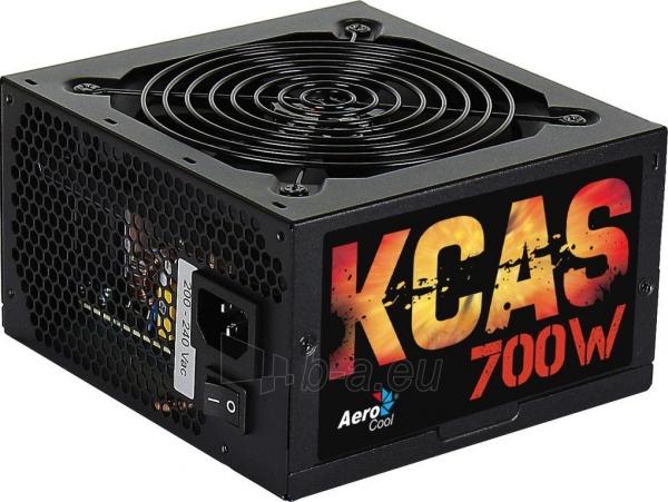 PSU AeroCool KCAS 700W, 80 PLUS Bronze Paveikslėlis 2 iš 3 250255010599