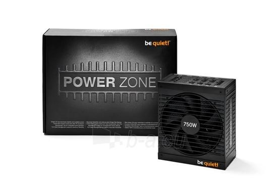 PSU be quiet! POWER ZONE 750W 80PLUS Bronze (žaidėjams) Paveikslėlis 4 iš 6 250255010664
