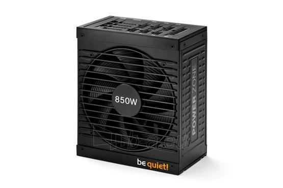 PSU be quiet! POWER ZONE 850W 80PLUS Bronze, Žaidėjams Paveikslėlis 2 iš 6 250255010665