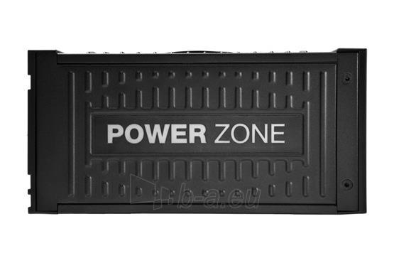 PSU be quiet! POWER ZONE 850W 80PLUS Bronze, Žaidėjams Paveikslėlis 3 iš 6 250255010665