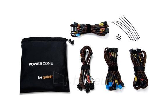 PSU be quiet! POWER ZONE 850W 80PLUS Bronze, Žaidėjams Paveikslėlis 6 iš 6 250255010665