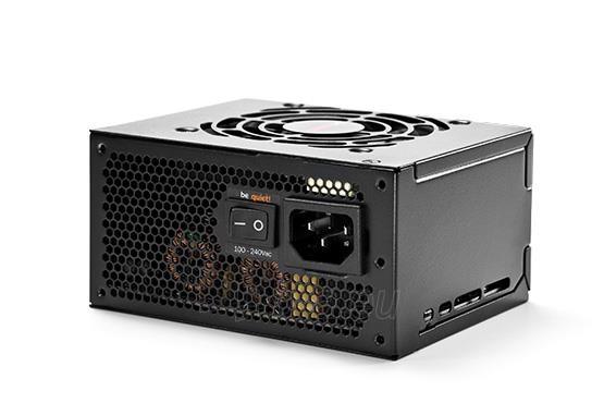 PSU be quiet! SFX POWER 2 400W 80plus Bronze, activePFC, 2x12Vrails Paveikslėlis 2 iš 4 250255010609