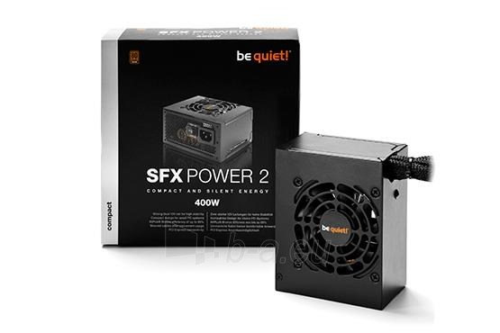 PSU be quiet! SFX POWER 2 400W 80plus Bronze, activePFC, 2x12Vrails Paveikslėlis 3 iš 4 250255010609