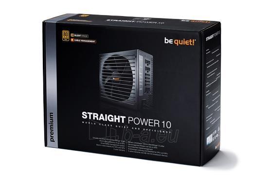 PSU be quiet! STRAIGHT POWER 10 500W CM 80PLUS GOLD Paveikslėlis 4 iš 5 250255010649