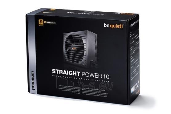 PSU be quiet! STRAIGHT POWER 10 700W 80PLUS GOLD Paveikslėlis 4 iš 5 250255010667