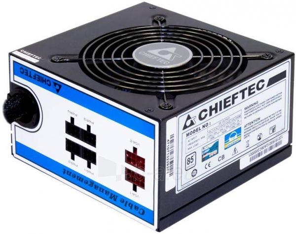 PSU Chieftec CTG-550C, 550W, box Paveikslėlis 1 iš 1 250255010615