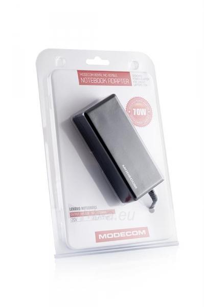 Maitinimo šaltinis Modecom skirtas LENOVO 70W , MC-1D70LE [7,9 x 5,5mm - 20V] Paveikslėlis 3 iš 3 250256400912