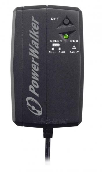 Maitinimo šaltinis Power Walker UPS DC/Buffering power supply 12V / 2,1A / 25W / 2,6AH Battery Paveikslėlis 1 iš 4 310820010911