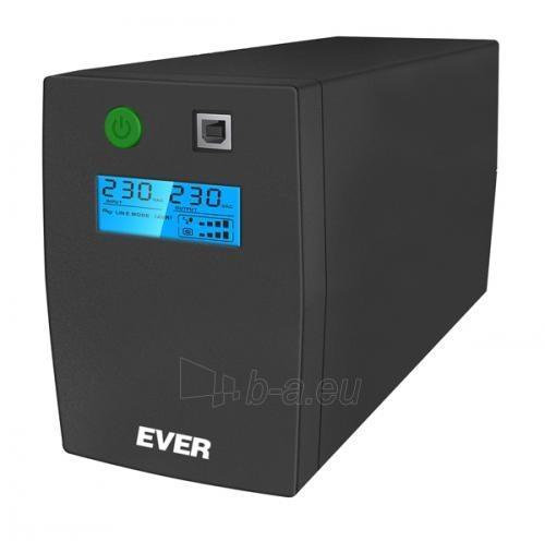 Maitinimo šaltinis UPS Ever Easyline 650AVR USB Paveikslėlis 1 iš 2 310820010936