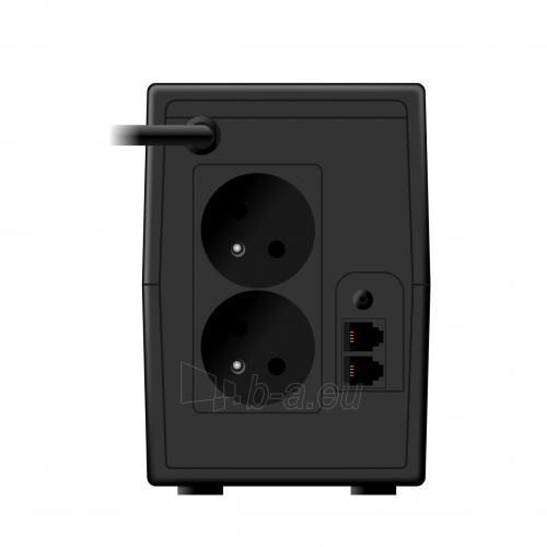 Maitinimo šaltinis UPS Ever Easyline 650AVR USB Paveikslėlis 2 iš 2 310820010936