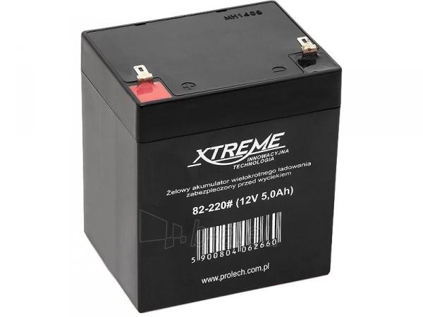 Maitinimo šaltinis XTREME UPS baterijos 12V 5Ah Paveikslėlis 1 iš 1 310820010915