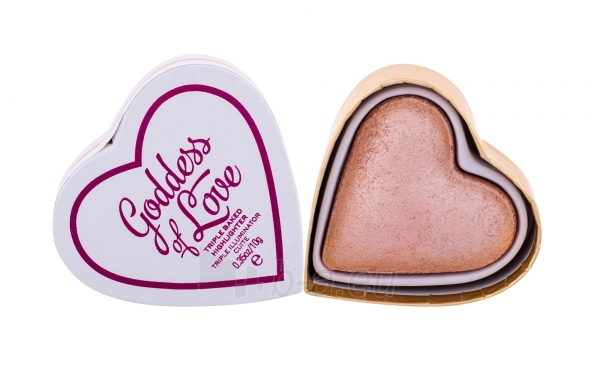 Makeup Revolution London I Love Makeup Goddess Of Love Baked Highlighter Cosmetic 10g Paveikslėlis 2 iš 2 250873400163