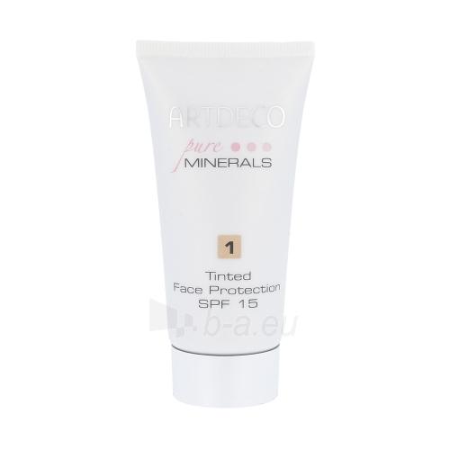 Makiažo pagrindas Artdeco Pure Minerals Tinted Face Protection SPF15 Cosmetic 50ml Shade 1 Paveikslėlis 1 iš 1 310820043989