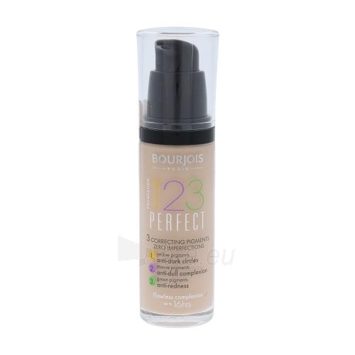 BOURJOIS Paris 123 Perfect Foundation 16 Hour Cosmetic 30ml 51 Light Vanilla Paveikslėlis 1 iš 1 250873101050