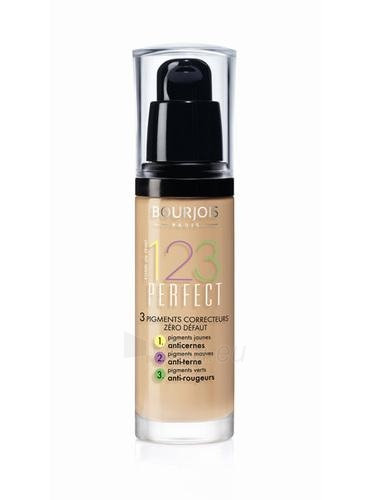 Makiažo pagrindas BOURJOIS Paris 123 Perfect Foundation 16 Hour Cosmetic 30ml 57 Light Bronze Paveikslėlis 1 iš 1 250873100988
