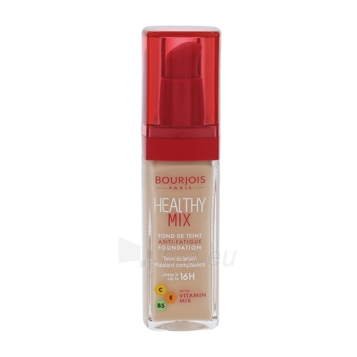 Makiažo pagrindas BOURJOIS Paris Healthy Mix Anti-Fatigue Foundation Cosmetic 30ml Shade 52 Vanilla Paveikslėlis 1 iš 1 310820118857