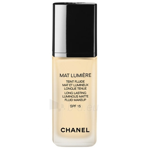 Chanel Mat Lumiere Teint Fluide SPF15 Cosmetic 30ml Paveikslėlis 1 iš 1 250873100876