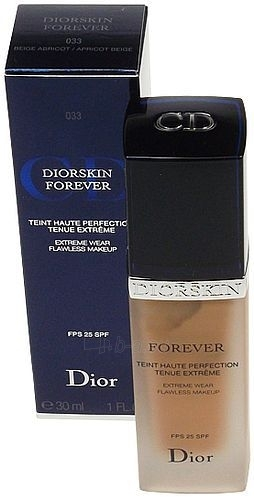 Christian Dior Diorskin Forever Flawless Makeup Cosmetic 30ml (color 033 Apricot Beige) Paveikslėlis 1 iš 1 250873100011