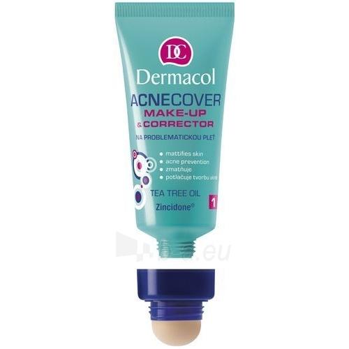 Makiažo pagrindas Dermacol Acnecover Make-Up & Corrector 01 Cosmetic 30ml Paveikslėlis 1 iš 1 250873100945