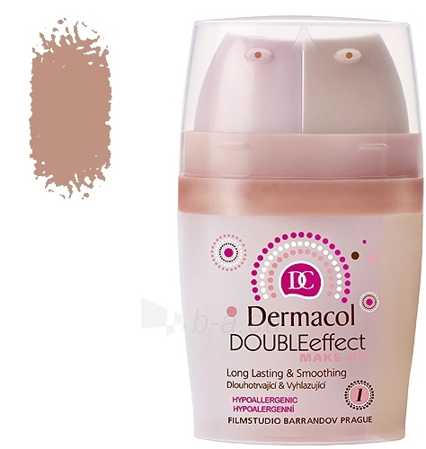 Dermacol Double Effect Make-Up 02 Cosmetic 30g Paveikslėlis 1 iš 1 250873100116