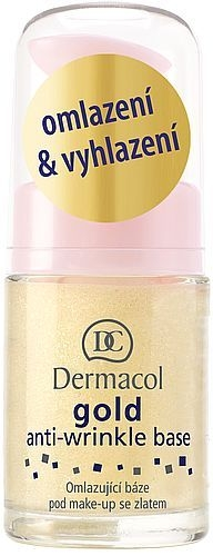 Dermacol Gold Anti-Wrinkle Base Cosmetic 15ml Paveikslėlis 1 iš 1 250873100118