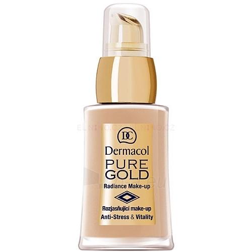 Makiažo pagrindas Dermacol Make-Up Pure Gold 3 Cosmetic 30g Paveikslėlis 1 iš 1 250873100073