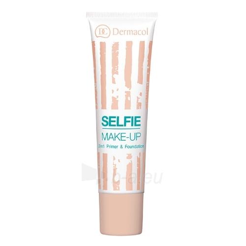 Makiažo pagrindas Dermacol Selfie Make-Up Cosmetic 25ml Shade 2 Paveikslėlis 1 iš 1 310820047489
