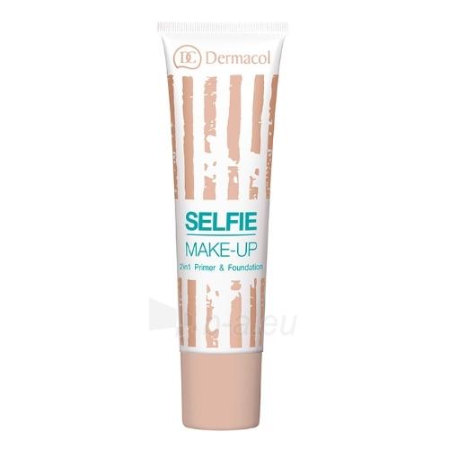 Makiažo pagrindas Dermacol Selfie Make-Up Cosmetic 25ml Shade 3 Paveikslėlis 1 iš 1 310820047537