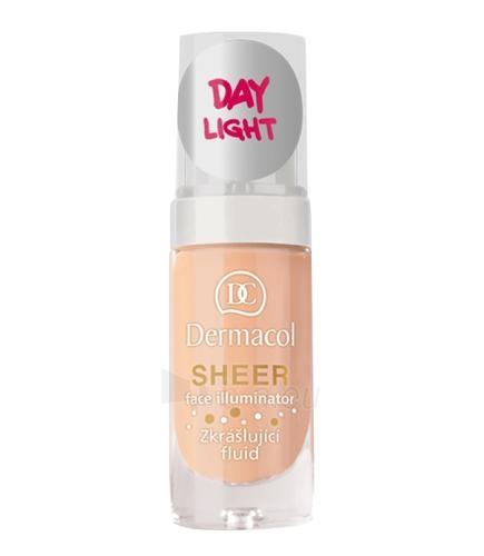 Makiažo pagrindas Dermacol Sheer Face Illuminator Cosmetic 15ml Day light Paveikslėlis 1 iš 1 250873100727