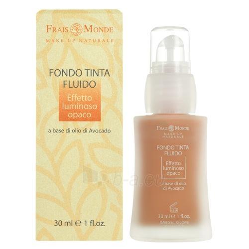 Makiažo pagrindas Frais Monde Make Up Naturale Fluid Foundation Cosmetic 30ml Nr.1 Paveikslėlis 1 iš 1 250873100798