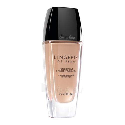Makiažo pagrindas Guerlain Lingerie De Peau Foundation SPF 20 Cosmetic 30ml Nr. 25 Doré Fonce Paveikslėlis 1 iš 1 310820015103