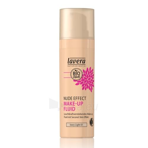 Makiažo pagrindas Lavera Natural and organic fluid makeup (Natural Liquid Foundation) 30 ml 03 Med Paveikslėlis 2 iš 2 310820128628