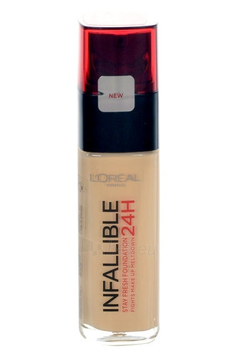 Makiažo pagrindas L´Oreal Paris Infallible Make-Up 24H Cosmetic 30ml Nr. 260 Golden Sun Paveikslėlis 1 iš 1 310820011539
