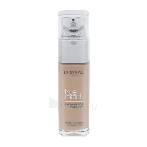 Makiažo pagrindas L´Oreal Paris True Match Super Blendable Foundation SPF17 Cosmetic 30ml R2-C2 Rosse Vanilla Paveikslėlis 1 iš 1 250873100745