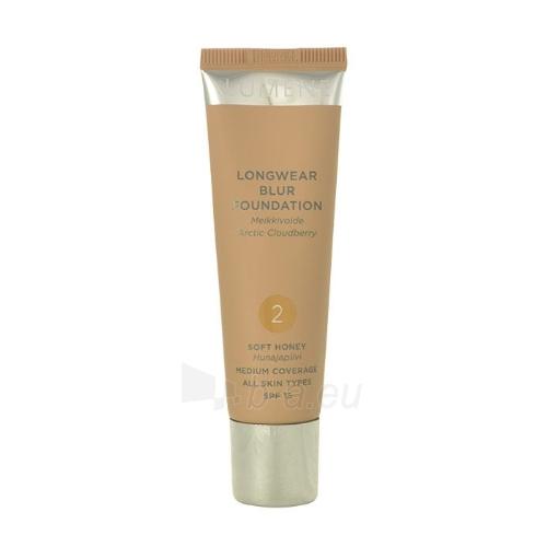 Makiažo pagrindas Lumene Longwear Blur Foundation SPF15 Cosmetic 30ml Shade 2 Soft Honey Paveikslėlis 1 iš 1 310820024075